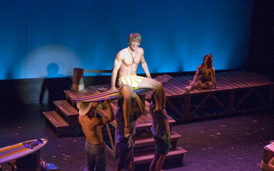 'Duke Kahanamoku's Roadsters and Jalopies' - Austin Miller as Woody (NYMF 2006)