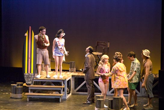 Michael Buchanan as Einstein, Erin Leigh Peck as J.J. (NYMF 2006)