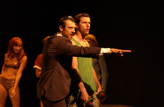 Juan Chioran as Sammy Leech, Jr., Michael Lomenda as Rip (SummerWorks 2003)